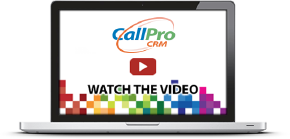 CallPro CRM - Watch the video